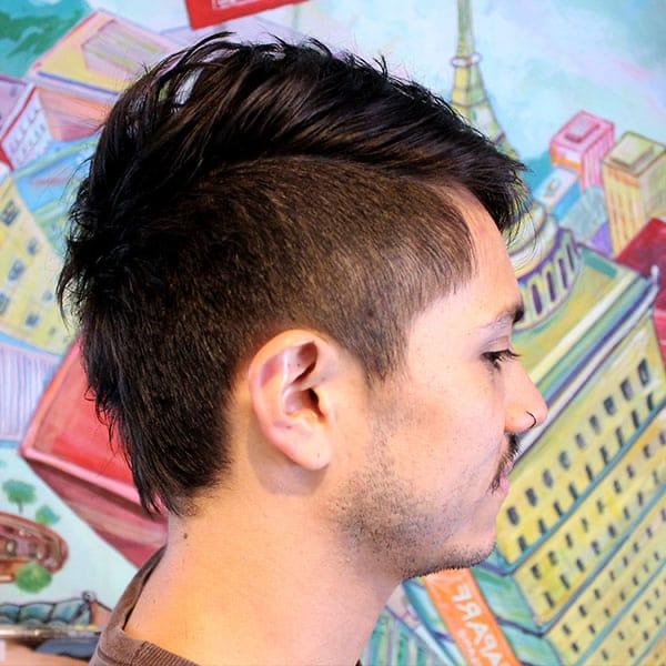 corte pelo hombre